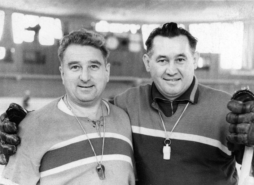 Анатолий Тарасов и Борис Кулагин