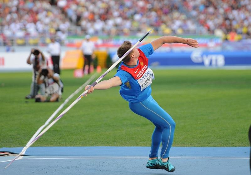 Древнегреческие легкоатлеты использовали гантели при прыжках в длину