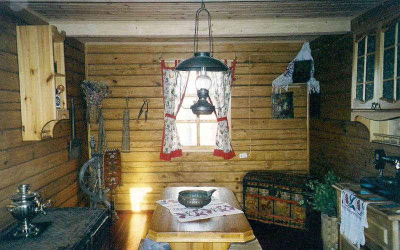 Русская изба фото черно белое
